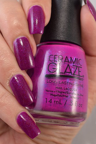 Ceramic Glaze Botanical Oasis Swatch