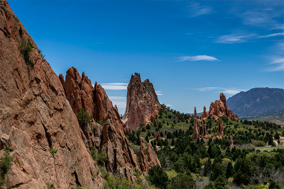 Spine: Garden of the Gods, Colorado Springs
