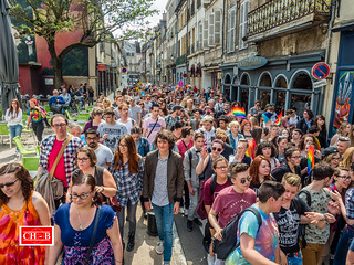 Marche des Fiertés LGBT 2016 à Dijon