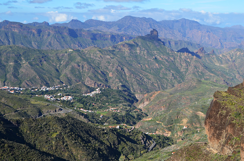 Views over the Tejeda Valley, Gran Canaria