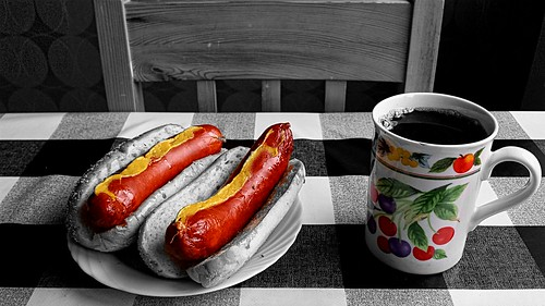 Coffee & Chorizo Hot Dogs