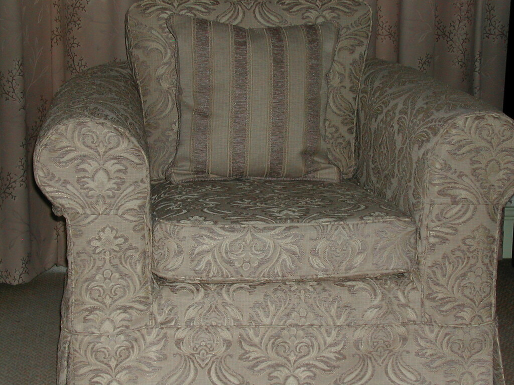 New Tailored Covers Armchair Fitted With New Tailored