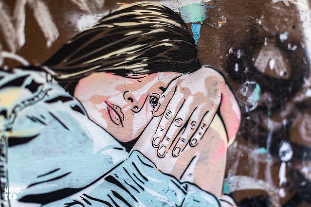 Stencil artists Jana & JS Hit The Streets Of London