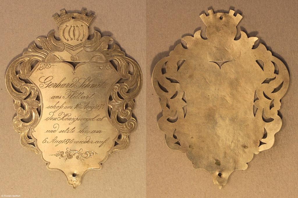 Koenigsschild Flittard von schmitz gerhard aus dem Jahr 1874
