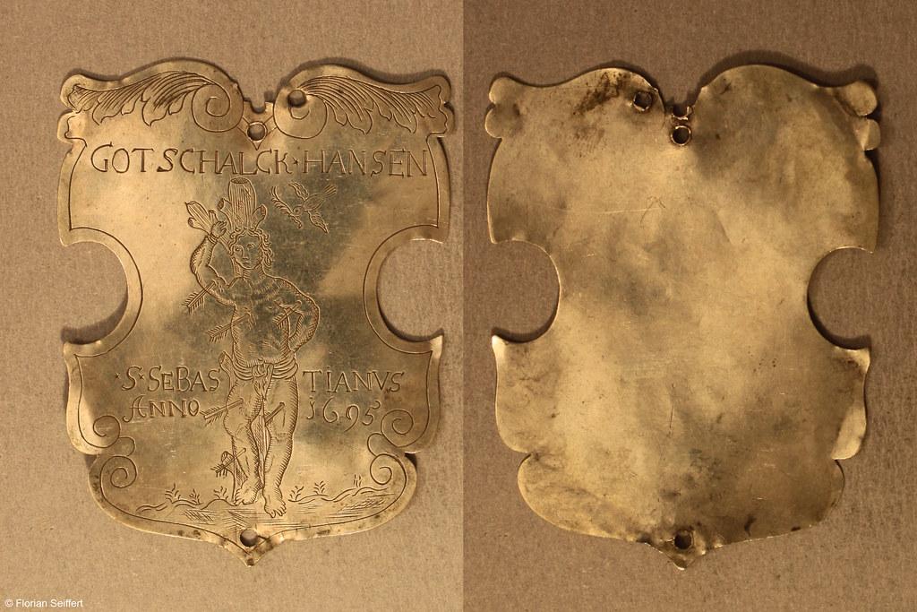 Koenigsschild Flittard von hansen gotschalck aus dem Jahr 1695