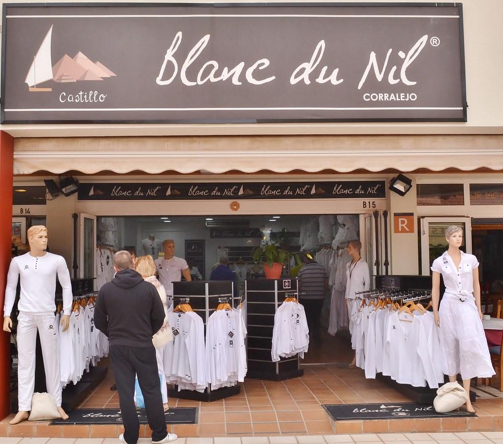 Blanc du nil located in caleta de fuste fuerteventura - Boutique free annecy ...