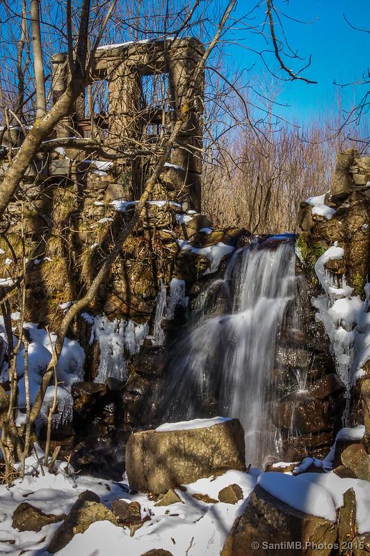 La presa de l'Estanyol