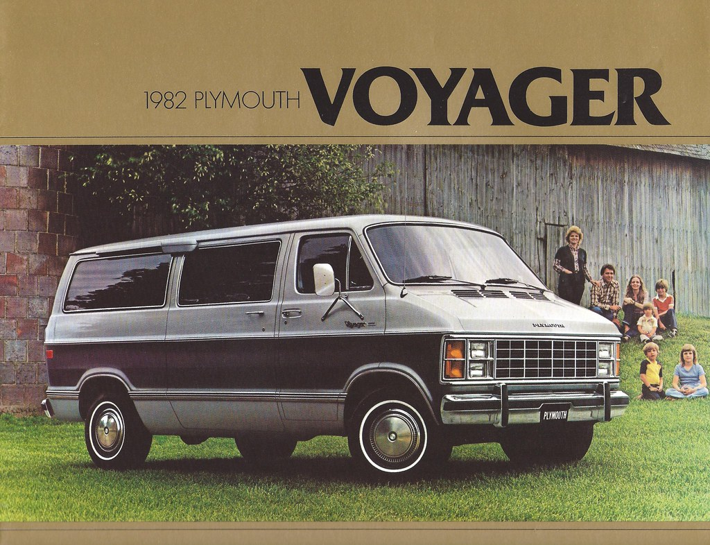 Dodge Mini Van >> Plymouth Voyager 1982 | Before the minivan era, the Voyager … | Flickr