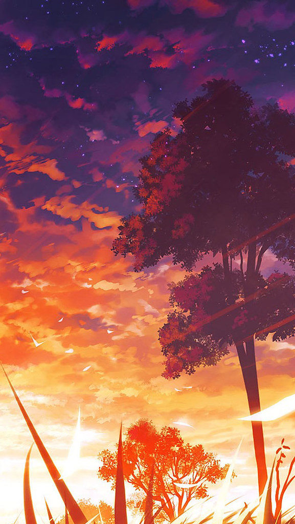 anime scenery iphone wallpaper cool desktop anime