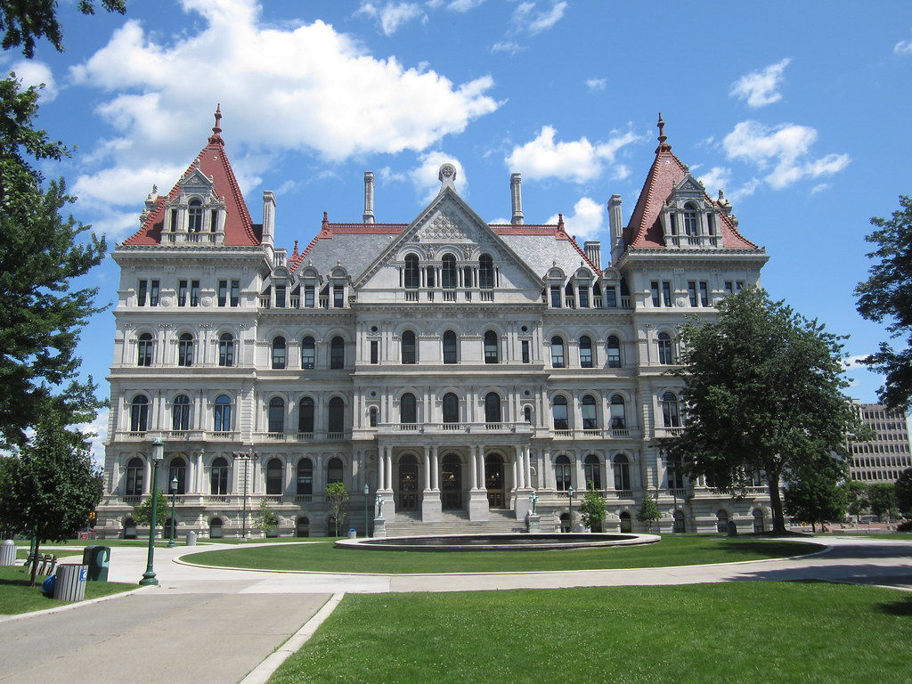 New York State Capitol  EnwikipediaorgwikiNew_York_Stat  Flickr