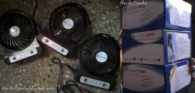 MINI HI-SPEED RECHARGEABLE USB FAN