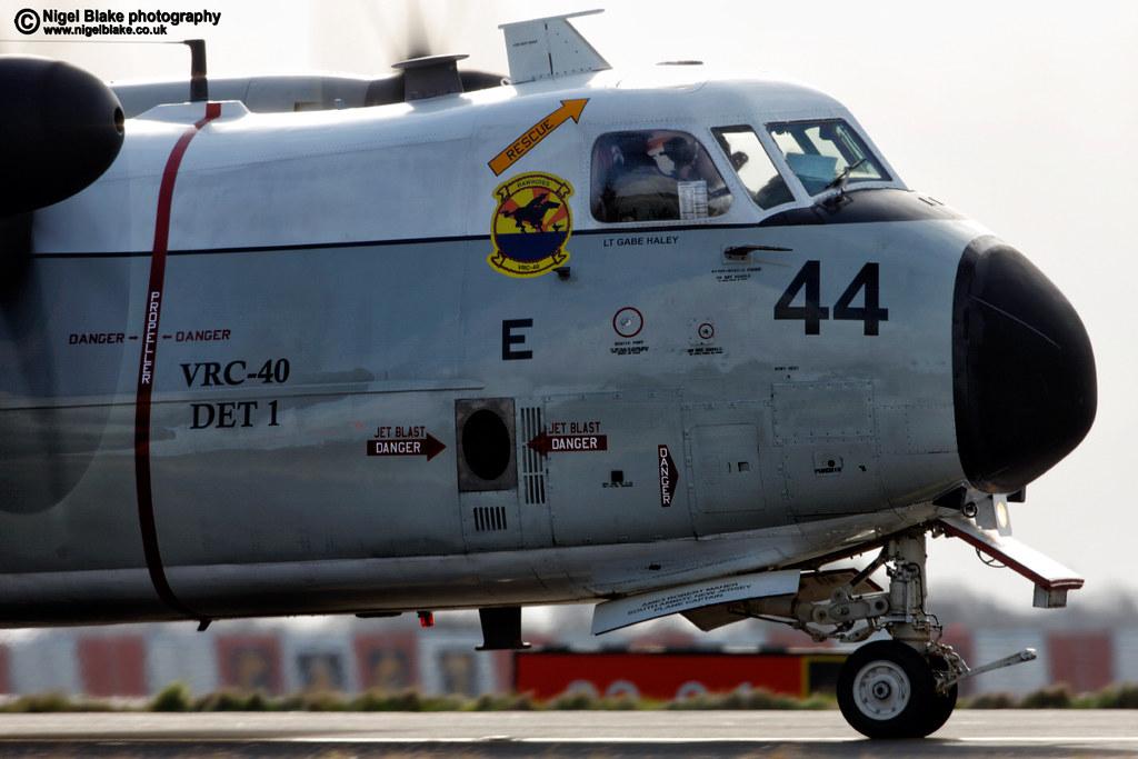 C 2a Greyhound Logistics Aircraft Grumman C-2A Greyhound...