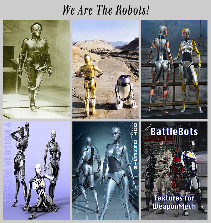 a collection of robots