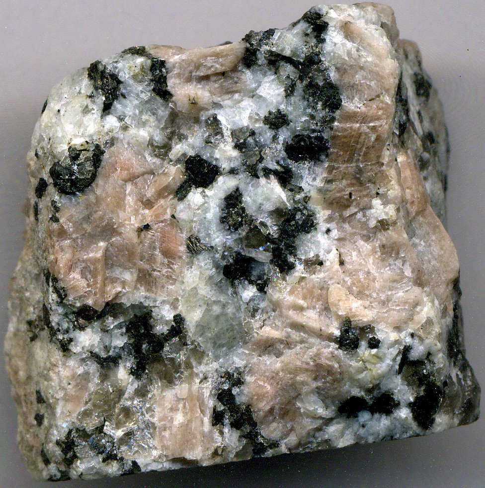 Granite Igneous Rock : Porphyritic granite precambrian st cloud area minnesot