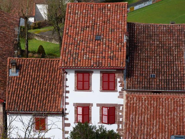 Casas de Sant Jean pied de Port (País Vasco francés)