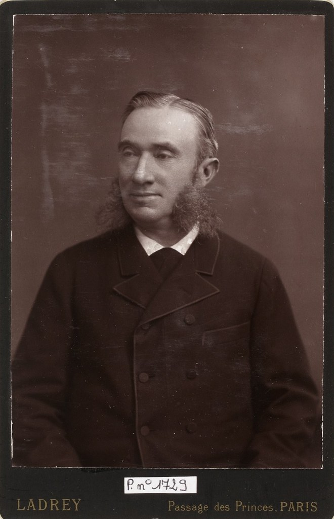 Léon Lemuet fotografiado por Ernest Ladrey. Biblioteca Nacional de Francia