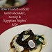London Food Blog - Startisans, Covent Garden - Tasting Room, slow roasted suffolk lamb shoulder, turnip &  'Egyptian Nights'  Jelly
