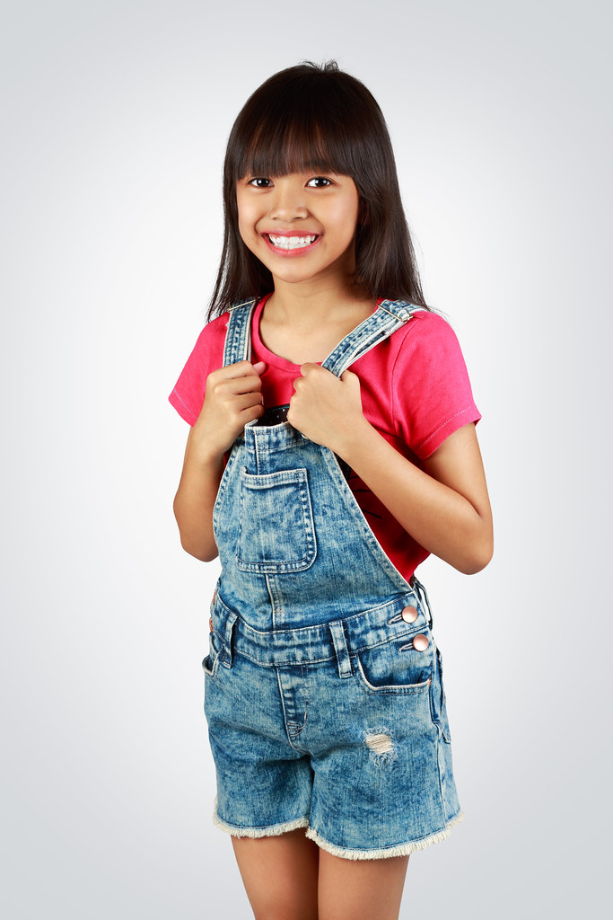 Little Asian Girl  Portrait Of A Little Asian Girl Standing  Flickr-1344