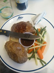 Steaks on a Train