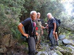 Brèche du Carciara d'Aragali : pause sur l'ancien chemin d'exploitation