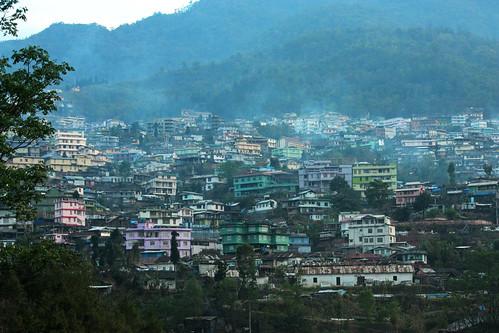 Kohima sprawls