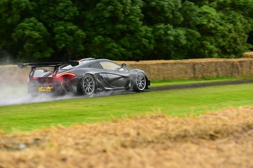 Kenny Brack, McLaren P1 LM, Goodwood Festival of Speed 2016
