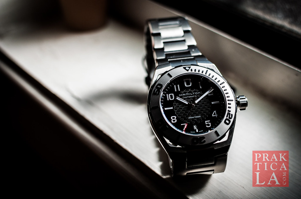 hamilton khaki navy sub automatic watch review