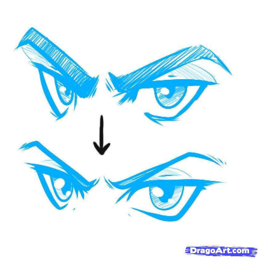 anime male eyes - 837×837