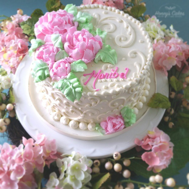 Simple Beautiful Decorated Cake