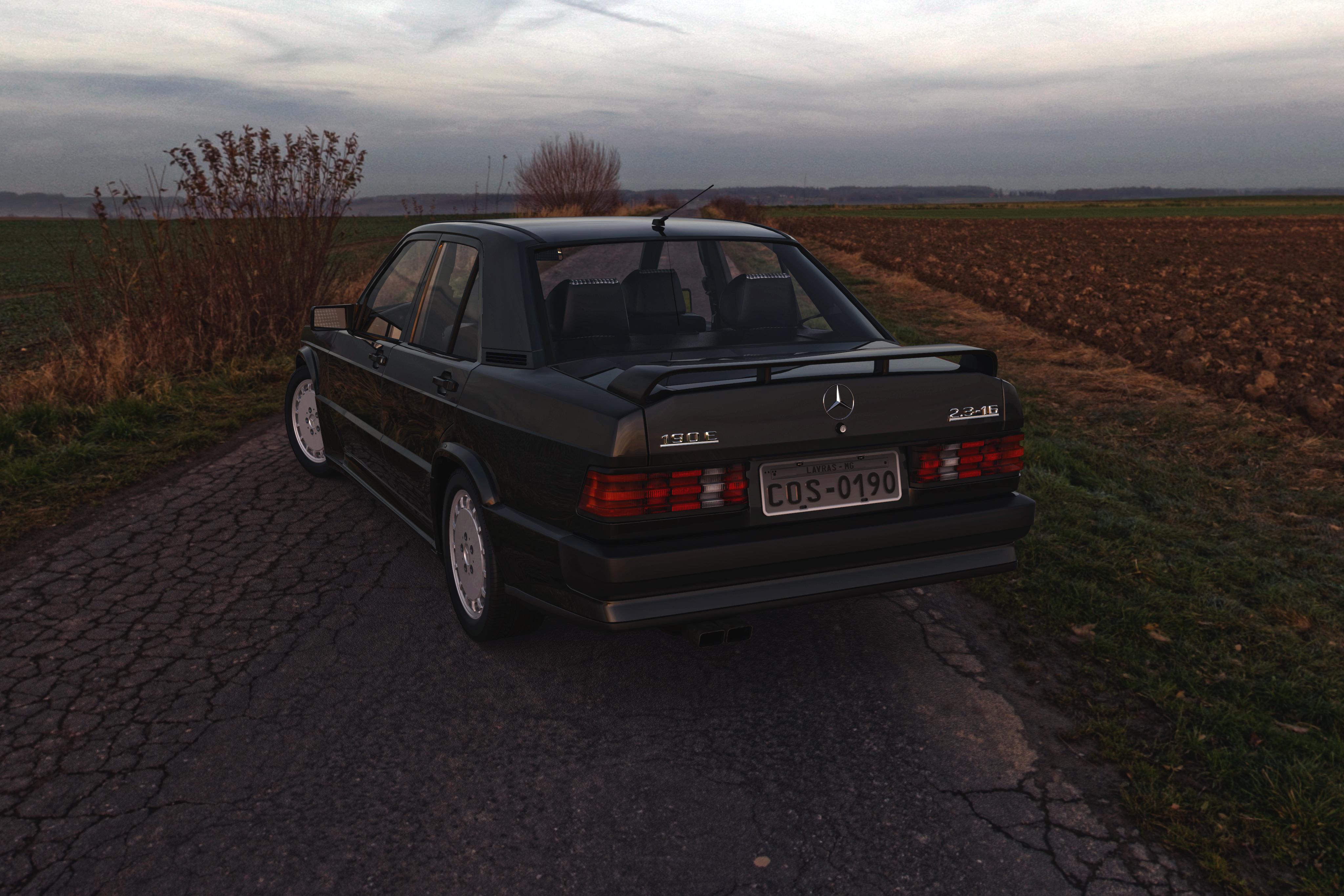 (W201): Modelo 3D - 190E 2.3-16 Cosworth 26756039680_f5f7e47baa_o