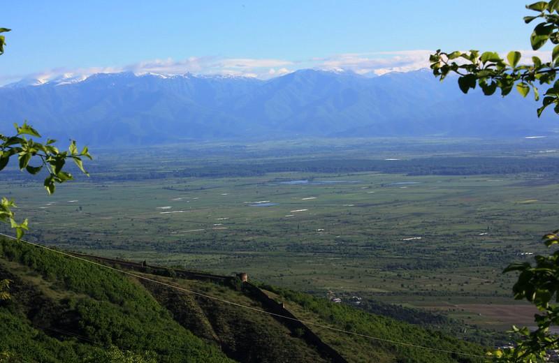 Алазанская долина,вид из Сигнахи