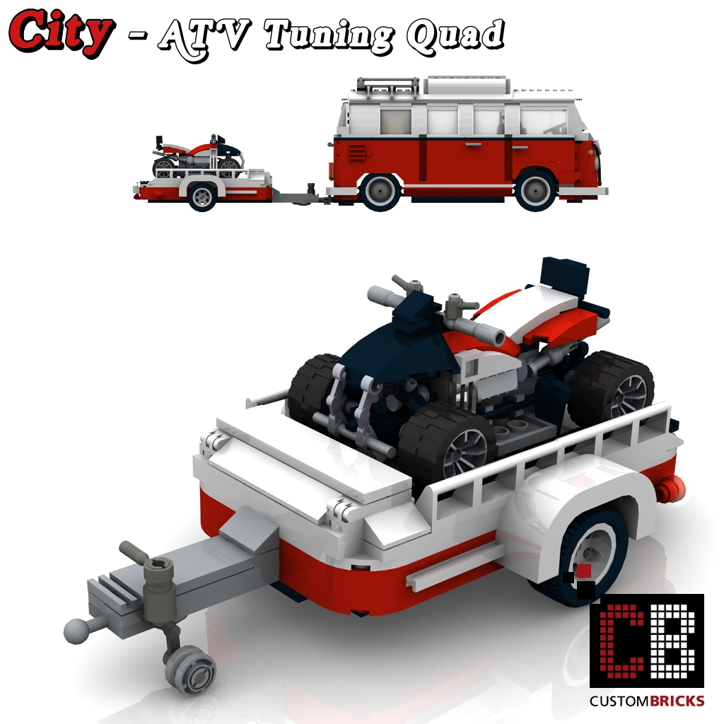 lego custom vw t1 bus atv tuning quad 10220 cb0 the. Black Bedroom Furniture Sets. Home Design Ideas