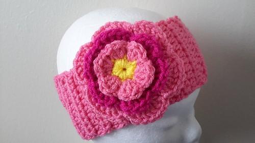 Crochet Layered Flowers Crochet Layered Flower
