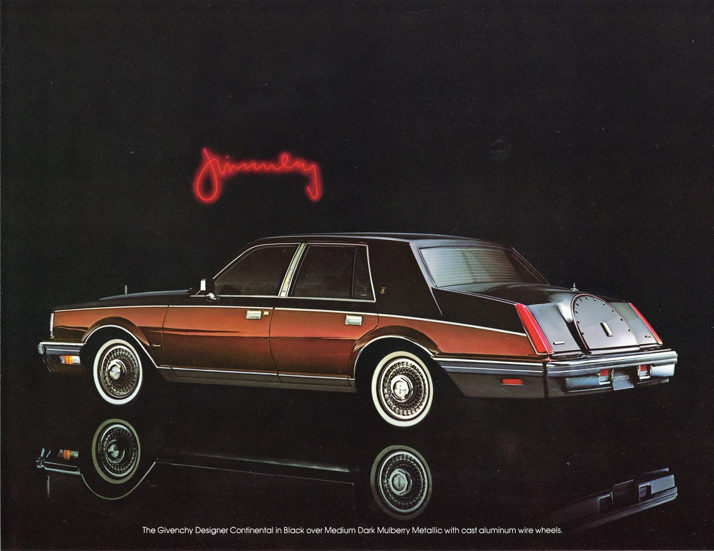 1982 Lincoln Givenchy Designer Continental Alden Jewell Flickr