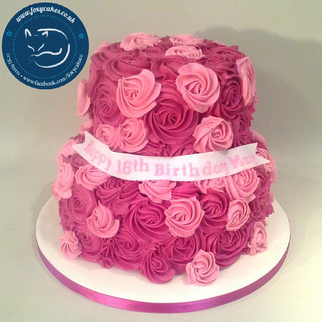 Girly Birthday Cakes For Adults