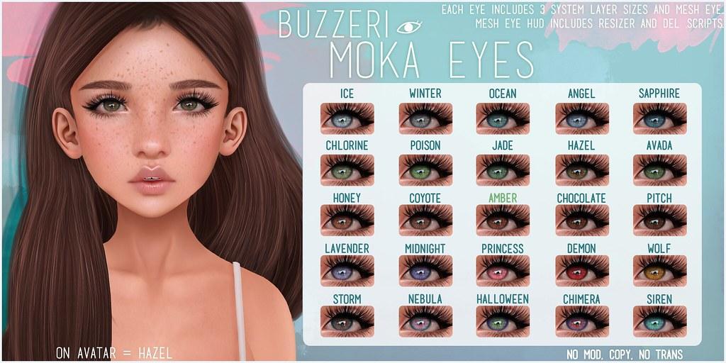 Second Life Copybot - [Buzz] Moka Eyes