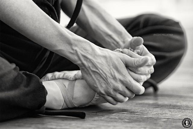 ballet dance fitness black white photography