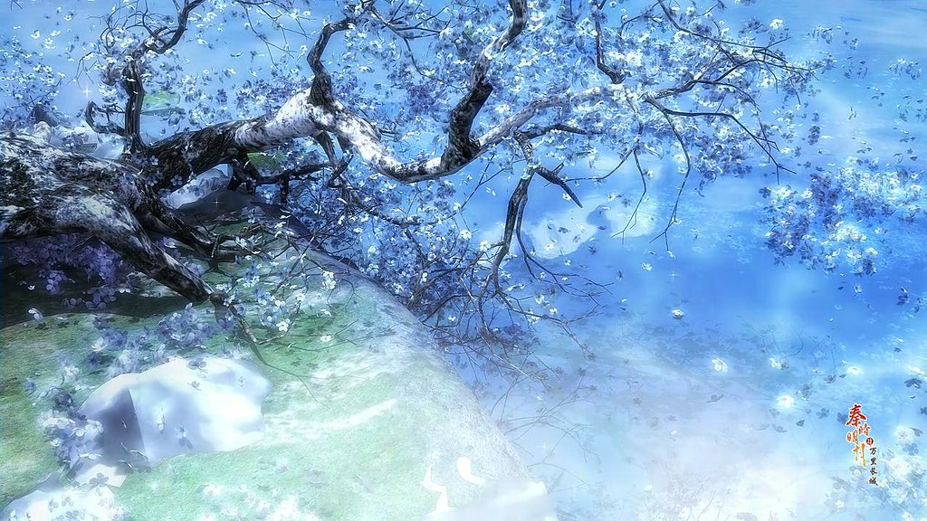 Anime Winter Scenery Wallpaper Download Free | Anime ...
