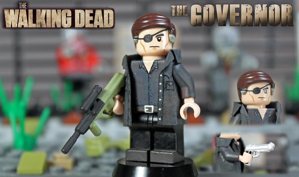 custom lego the walking dead the governor go through. Black Bedroom Furniture Sets. Home Design Ideas