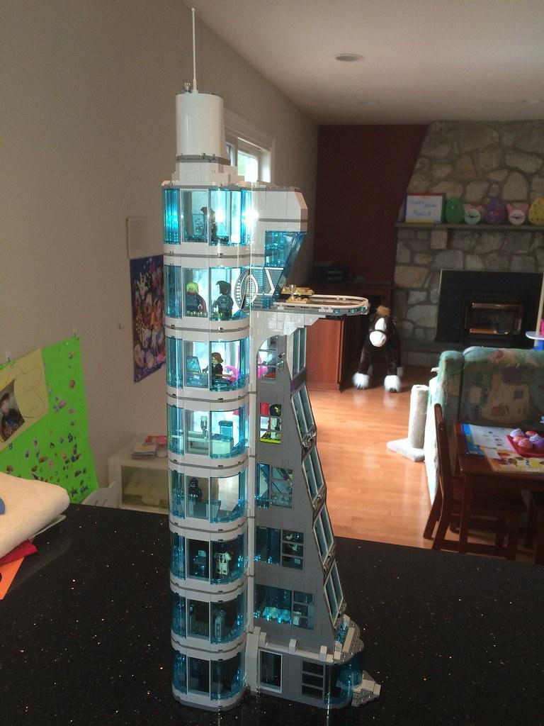LEGO Avengers Tower v3.0   cmay91472   Flickr