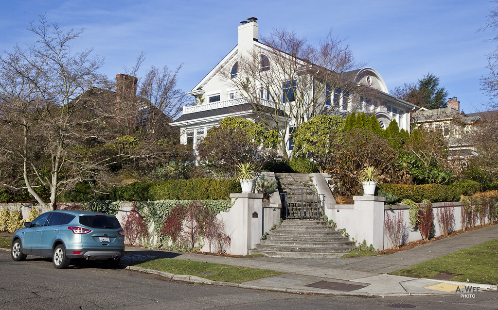 Stately mansions in Queen Anne