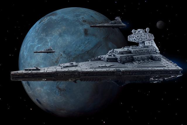 Imperial Star Destroyer Tyrant, by Raskolnikov, on Eurobricks
