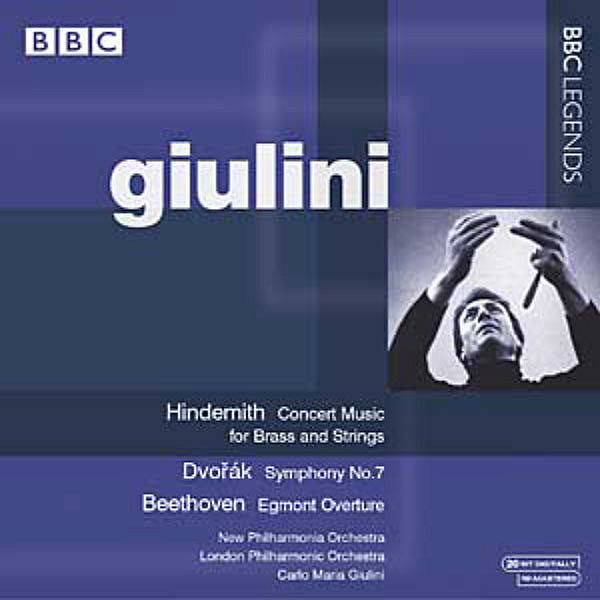 Carlo Maria Giulini Conducting Philharmonia Orchestra Unfinished Symphony Variations On A Theme By H