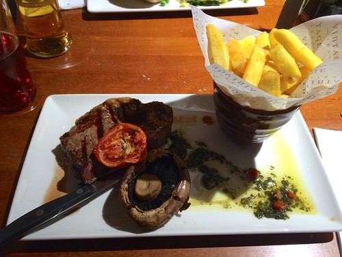 March Hare Pub - steak