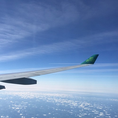 Off to the UK on Aer Lingus