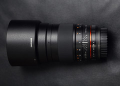 My new 135 lens: Samyang 135mm f/2 ED UMC
