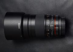 My new 135 lens: Samyang 135mm f/2 ED UMC