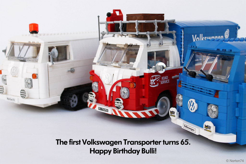 happy birthday bulli the first volkswagen transporter tur. Black Bedroom Furniture Sets. Home Design Ideas