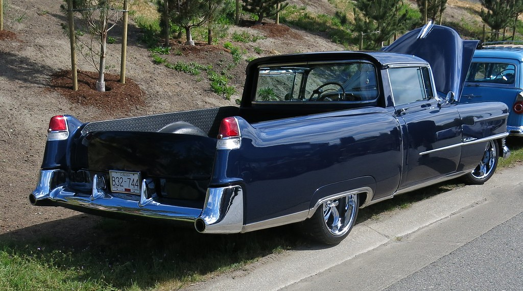 1954 cadillac custom pickup truck custom cab flickr. Black Bedroom Furniture Sets. Home Design Ideas