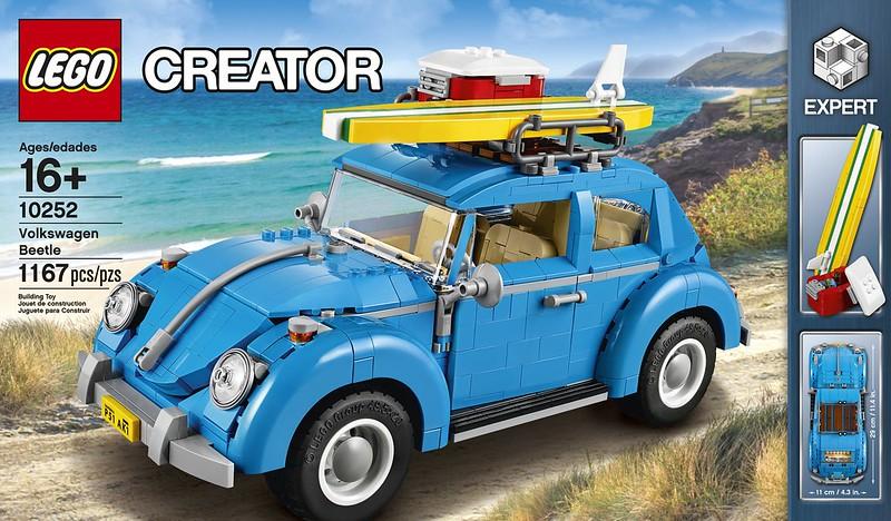 LEGO Volkswagen Beetle: Creator 10252 - Volkswagen Beetle